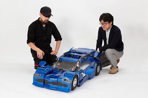 Pengembang Jepang Berhasil Ciptakan Transformers1