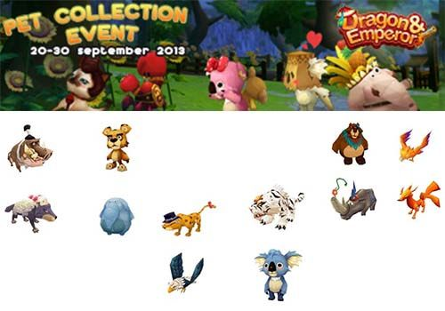 DEO Pet Collection Event