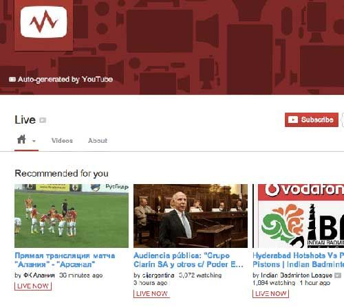 Rahasia Youtube Youtube Live