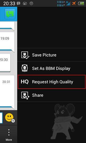 Cara Mengirim Dan Menyimpan Foto Kualitas Tinggi Di BBM Android1