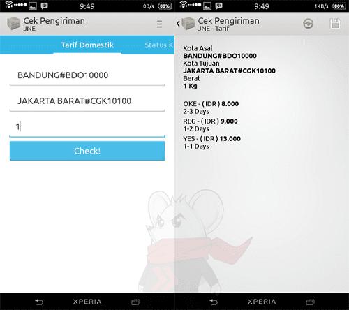 Cara Cek No Resi Atau Airwaybill Dari Berbagai Pengiriman Di Android 4