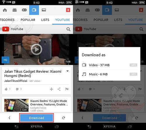 Cara Mudah Download Video Youtube Dengan Snappea 2
