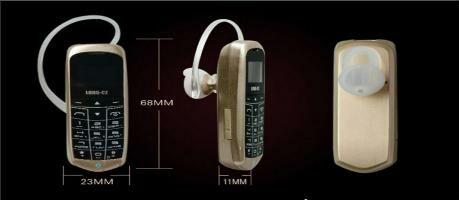 Bisa Jadi Headset Bluetooth, Ini Dia Handphone Paling Kecil di Dunia!