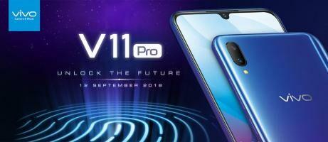 Vivo V11 Pro dengan Screen Touch ID Pertama di Dunia Resmi Rilis di Indonesia, Apa Saja Keunggulannya?