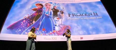 Elsa dan Anna dalam Misi Memajukan Pendidikan Indonesia