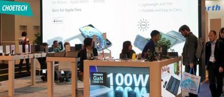 CHOETECH CES 2020, Unjuk Wireless Charger 16 Koil dan Charger Ringkas 100W