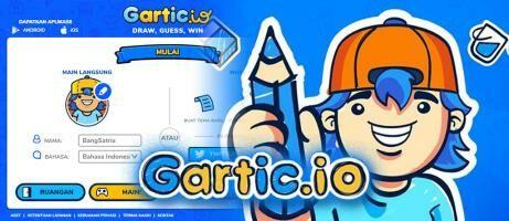 Game Gartic.io: Ini Cara Main Game Tebak Gambar Bahasa Indonesia di HP & Laptop!