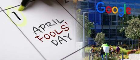 7 Prank April Mop Google Paling Terseru, Ada Teknologi Time Travel?