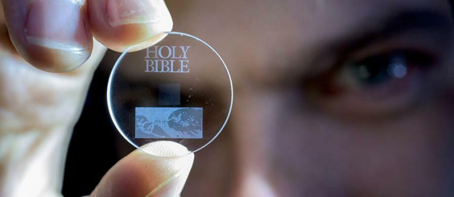 GILA! CD Ini Bisa Simpan 400 Ribu Film HD dan Tahan Hingga 13 Miliar Tahun