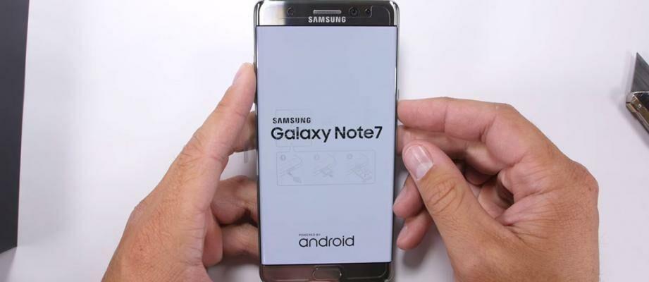 Waduh, Layar dan Fingerprint Samsung Galaxy Note 7 Ternyata Mudah Tergores!