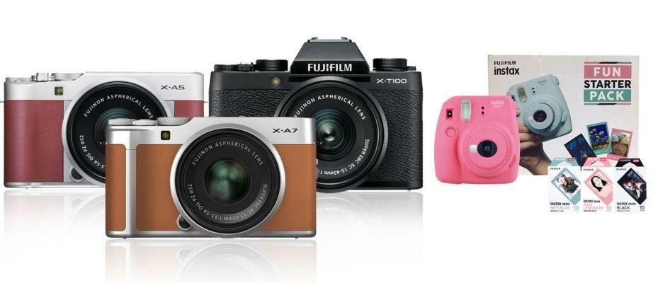 Daftar Harga Kamera Fujifilm Mirrorless & Instax Terbaru 2020
