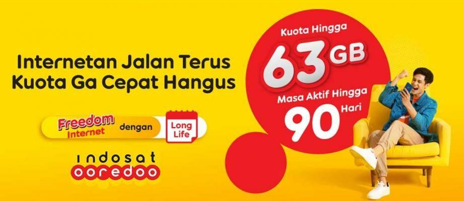 Harga Paket Internet Indosat Mei 2021, Mulai Rp2 Ribuan!
