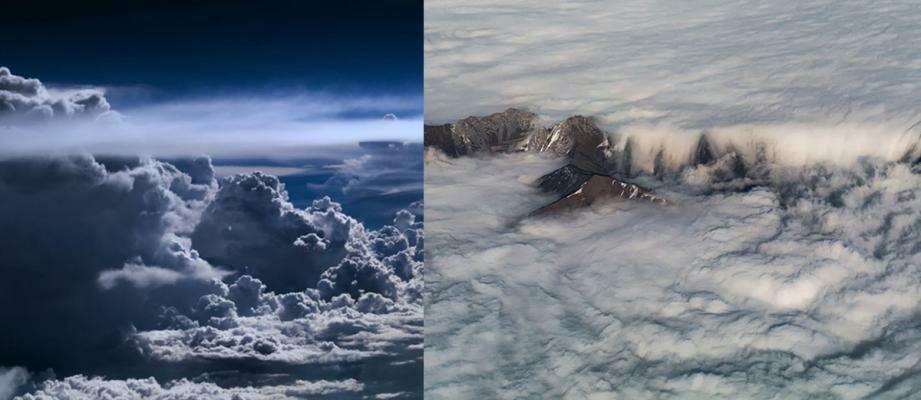15+ Foto Fantastis yang Diambil oleh Pilot di Atas Langit