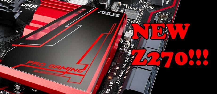 Keren, Ini Dia Tampilan Motherboard ASUS Z270 Terbaru!