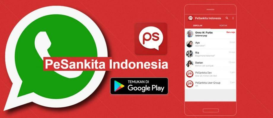 Aplikasi WhatsApp Buatan Indonesia, Udah Coba Belum?