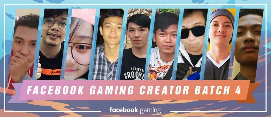 Produktif dengan Main Game! Ini Dia 9 Official Facebook Gaming Creator Batch Keempat