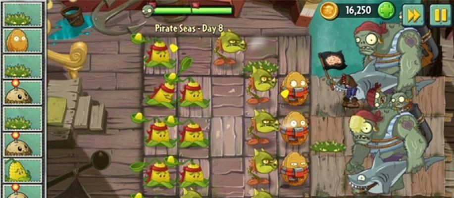 Update Terbaru Plants vs Zombies 2 dengan Map Baru