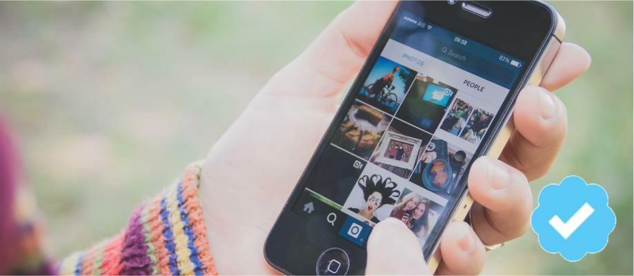 Cara Memberi Tanda Cek Biru/Official Akun Pada Instagram Kalian