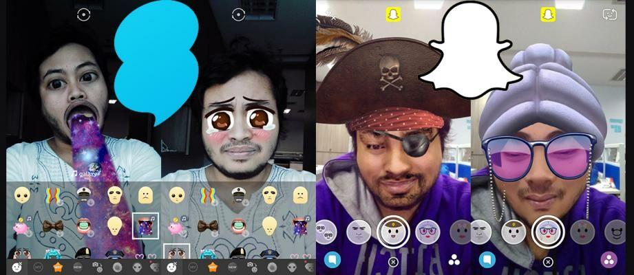 Adu Filter Video Selfie Snapchat Vs Snow, Mana yang Paling Seru?