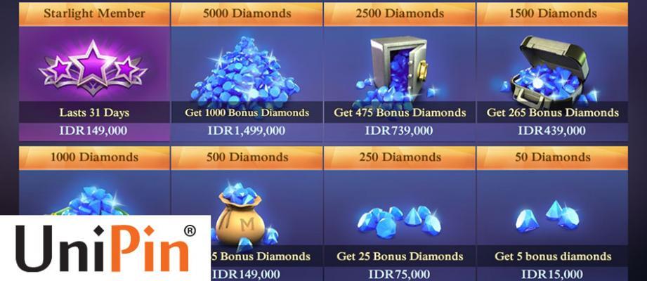 Cara Beli Diamond Secara Resmi Di Unipin Termurah Jalantikus