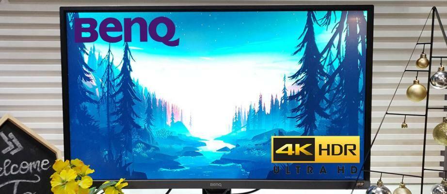 Rekomendasi Monitor Gaming 4K HDR Terbaik (2019) - BenQ EW3270U 4K Monitor