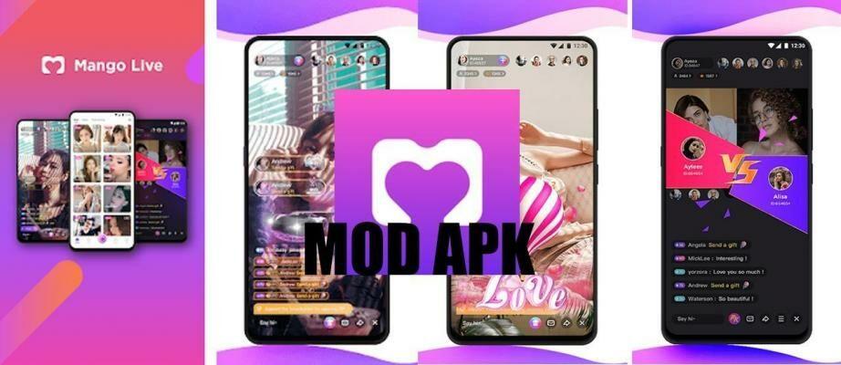 Download Mango Live MOD APK v3.3.7 Terbaru 2021, Unlock Room + VIP Gratis!
