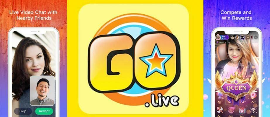 Download GOGO LIVE MOD APK v3.3.6 Terbaru 2021, Anti Banned VIP Free Coin!