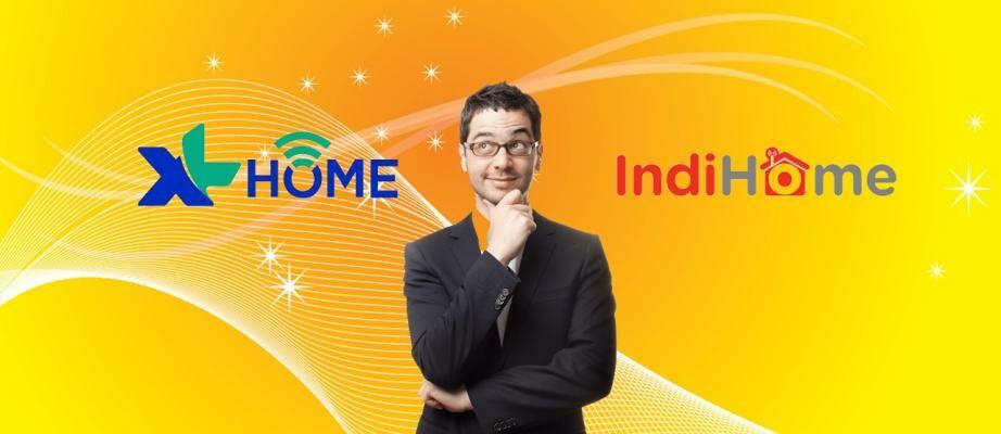 XL Home vs IndiHome, Mana yang Lebih Murah, Kencang, & Stabil?