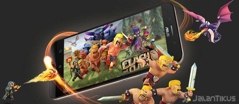 8 Smartphone Android murah Yang Cocok Untuk Main COC