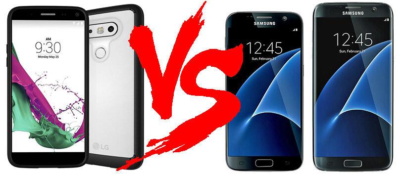 LG G5 VS Samsung Galaxy S7, Duel Monster dari Negeri Ginseng
