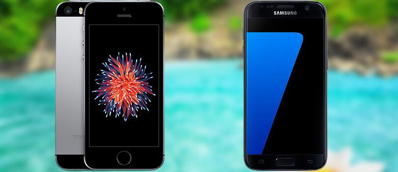 PARAH! Ternyata Biaya Pembuatan Galaxy S7 dan iPhone SE Cuma 2 Jutaan