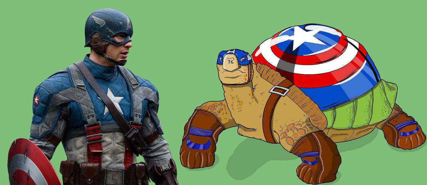 NGAKAK! Begini Jadinya Kalau Superhero Digantikan dengan Hewan