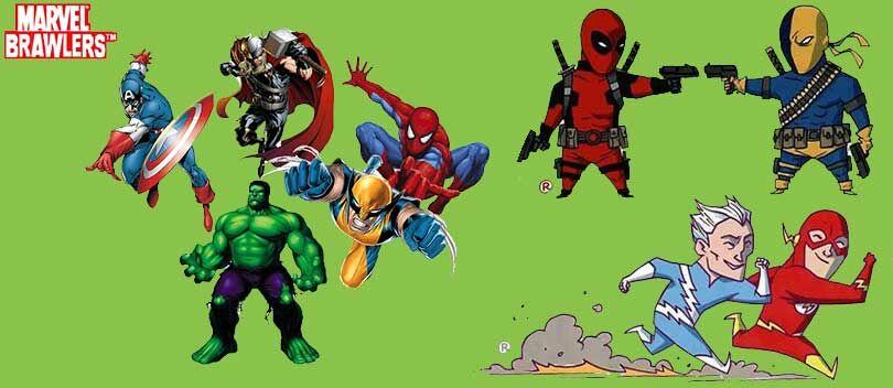 Parah! 25 Superhero Marvel Ternyata Mirip Karakter DC Comics