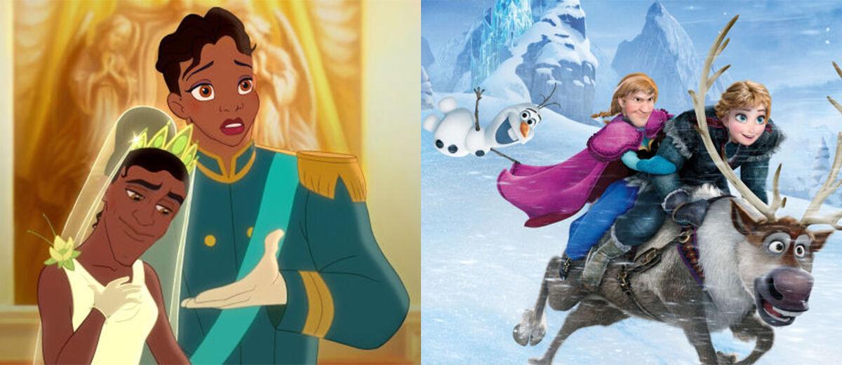 10 Foto Face Swap Paling Kocak yang Dilakukan Karakter Disney