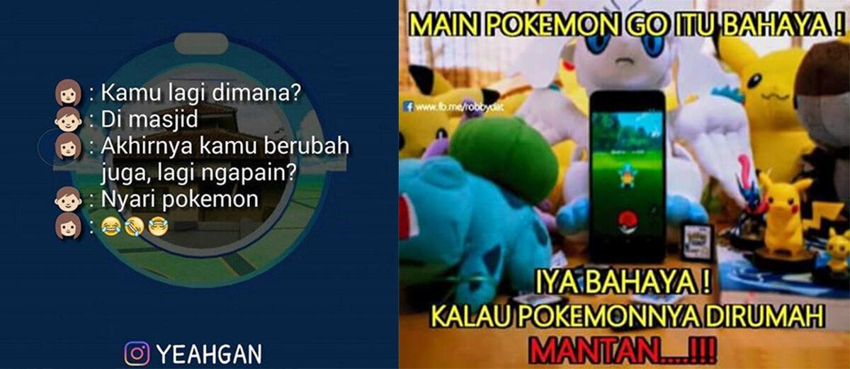30+ Meme Pokemon GO yang Bisa Bikin Ngakak!