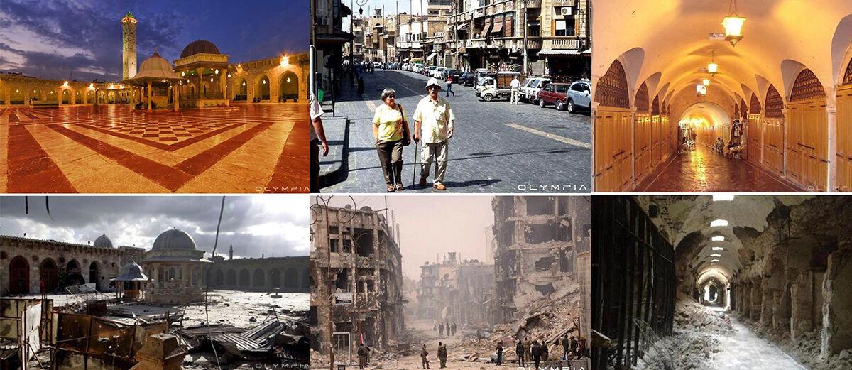 20 Foto Perbandingan Kondisi Suriah Sebelum dan Setelah Perang