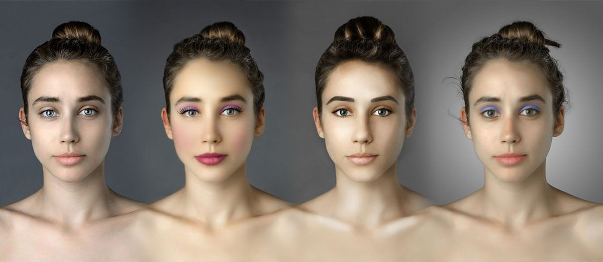 Jadi Korban Photoshop, Wanita Ini Jadi Punya 25 Wajah. Mana yang Paling Cantik?