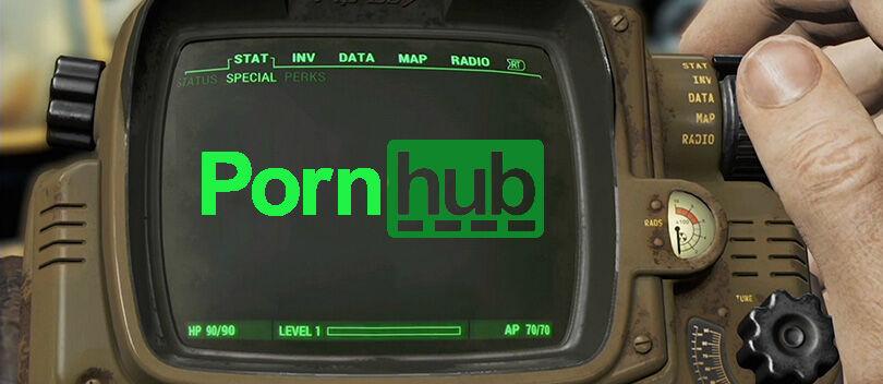 Fallout 4 Dirilis, Industri Porno Meringis