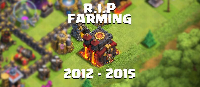 Bocoran Update COC Part 1: Selamat Tinggal Base Farming