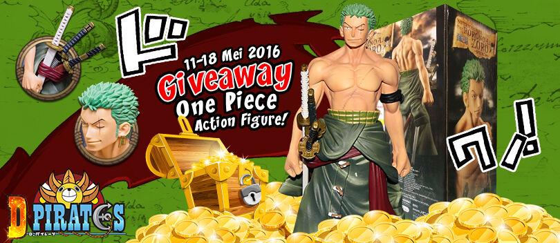 D! Pirates Bagi-bagi Action Figure One Piece Gratis Periode 2