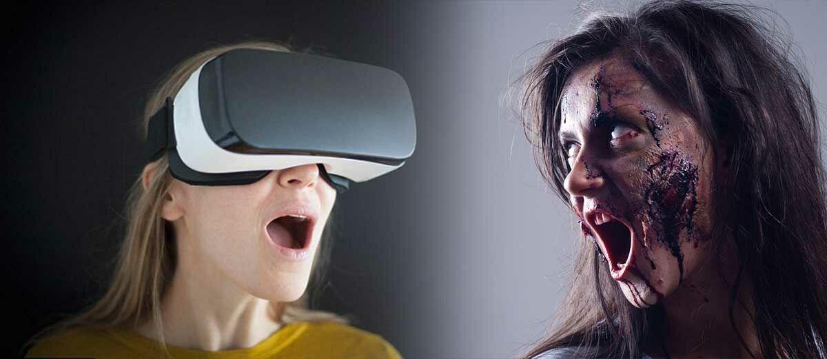 Jangan Main VR Kalo Gak Mau Jadi 'Gila' Seperti Cewek Ini