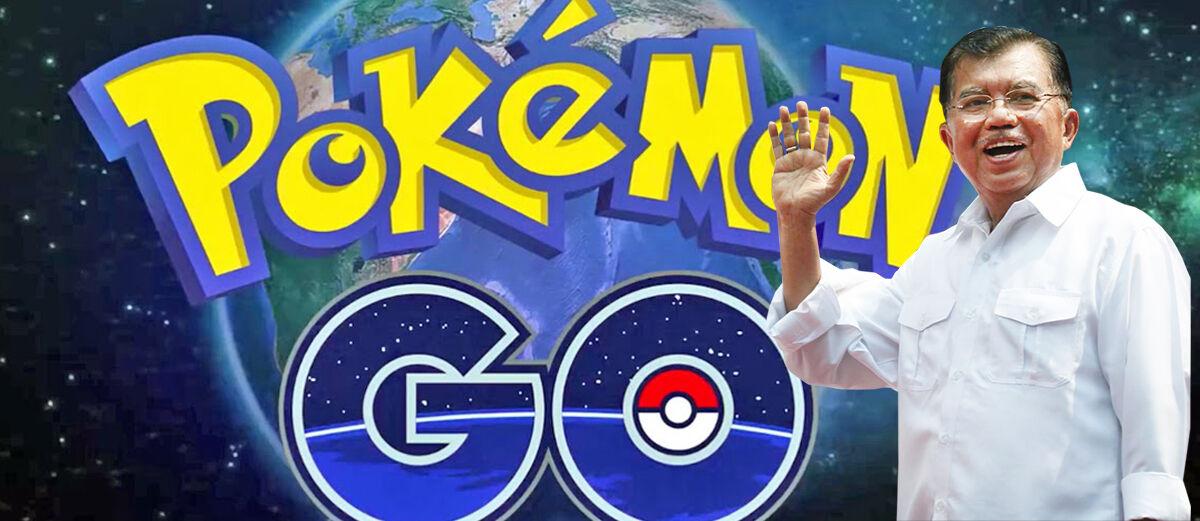 Wakil Presiden Dukung Permainan Pokemon GO di Indonesia