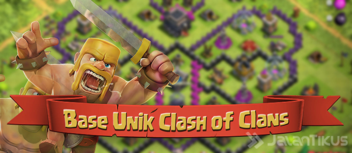 Kumpulan Formasi Base Clash of Clans Unik dan Keren