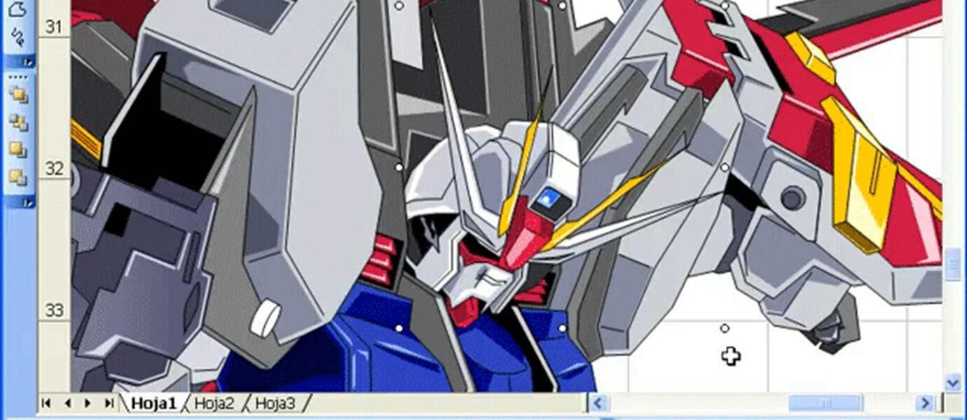 Video: Menggambar Gundam Hanya Dengan Microsoft Excel