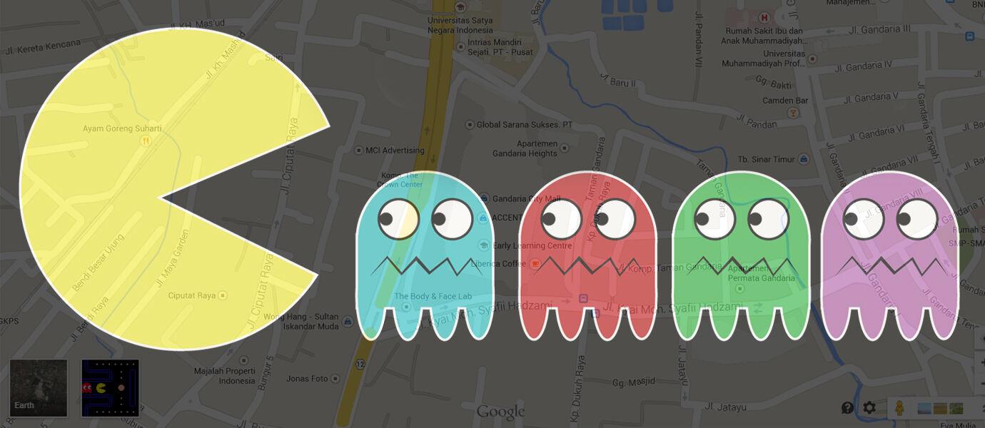 Wow! Hari Ini Kamu Bisa Main Pac-Man di Google Maps