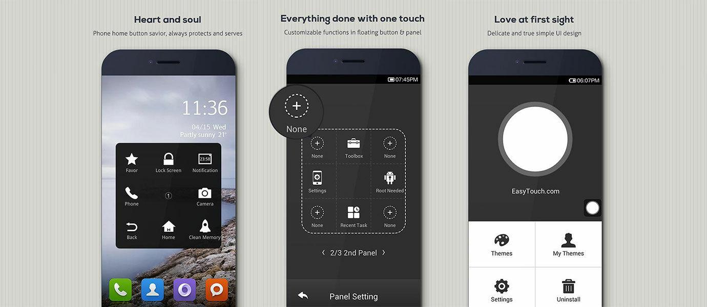 Cara Pakai Tombol Virtual (AssistiveTouch) Seperti iPhone di Hape Android