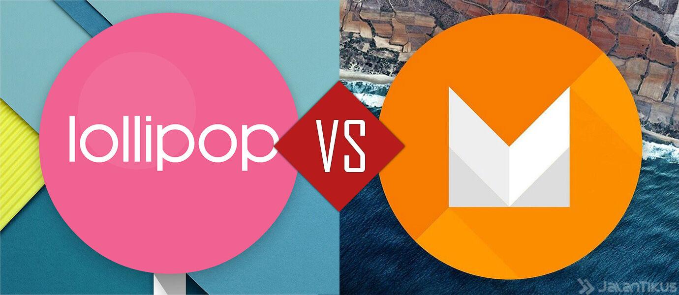 20 Screenshot Perbandingan Android Marshmallow vs Android Lollipop