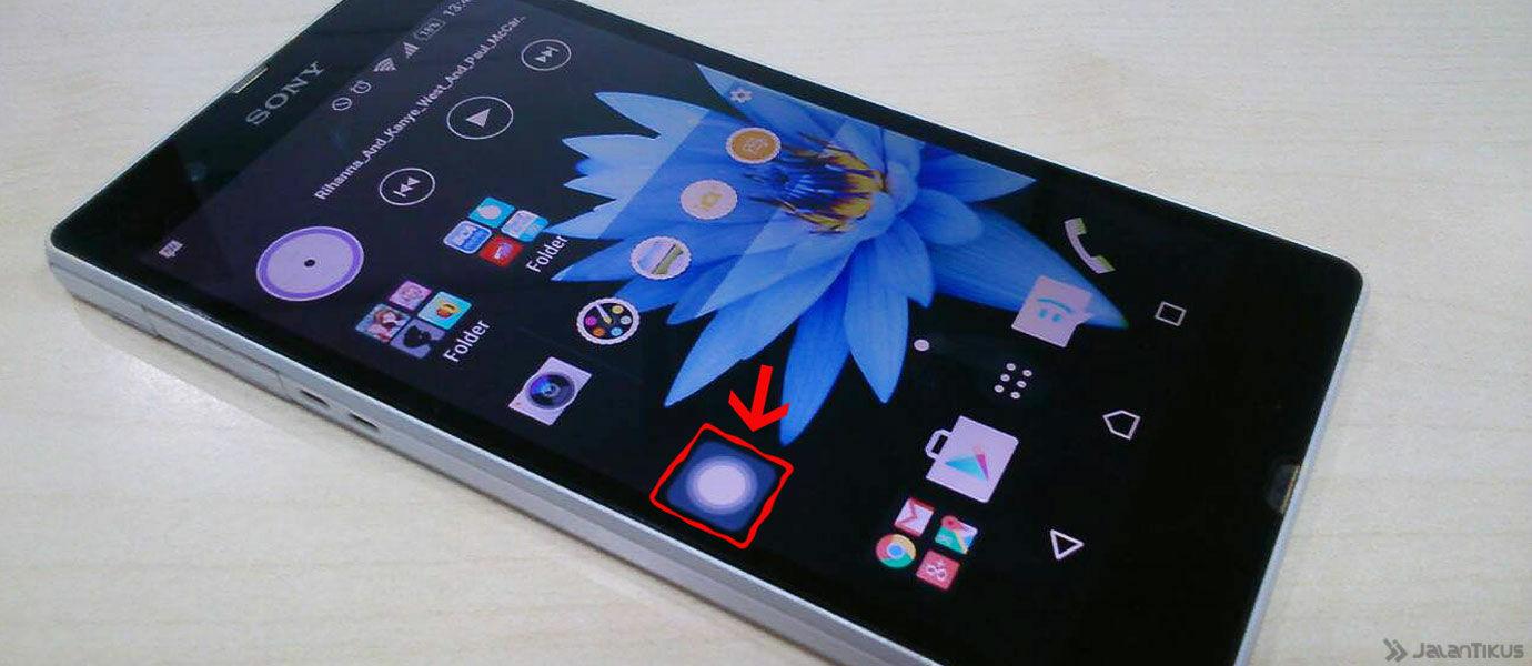 Cara Menggunakan Tombol Assistive Touch Seperti iPhone di Smartphone Android