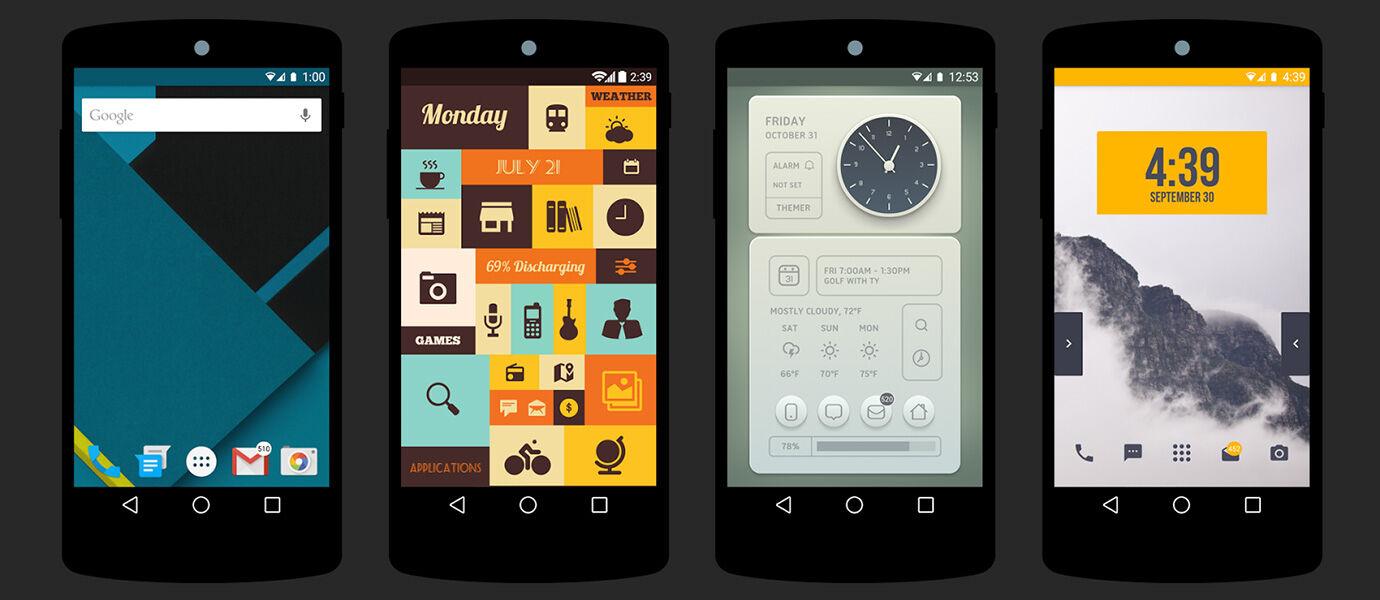 6 Tema Launcher Keren yang Membuat Android Kamu Makin Gokil