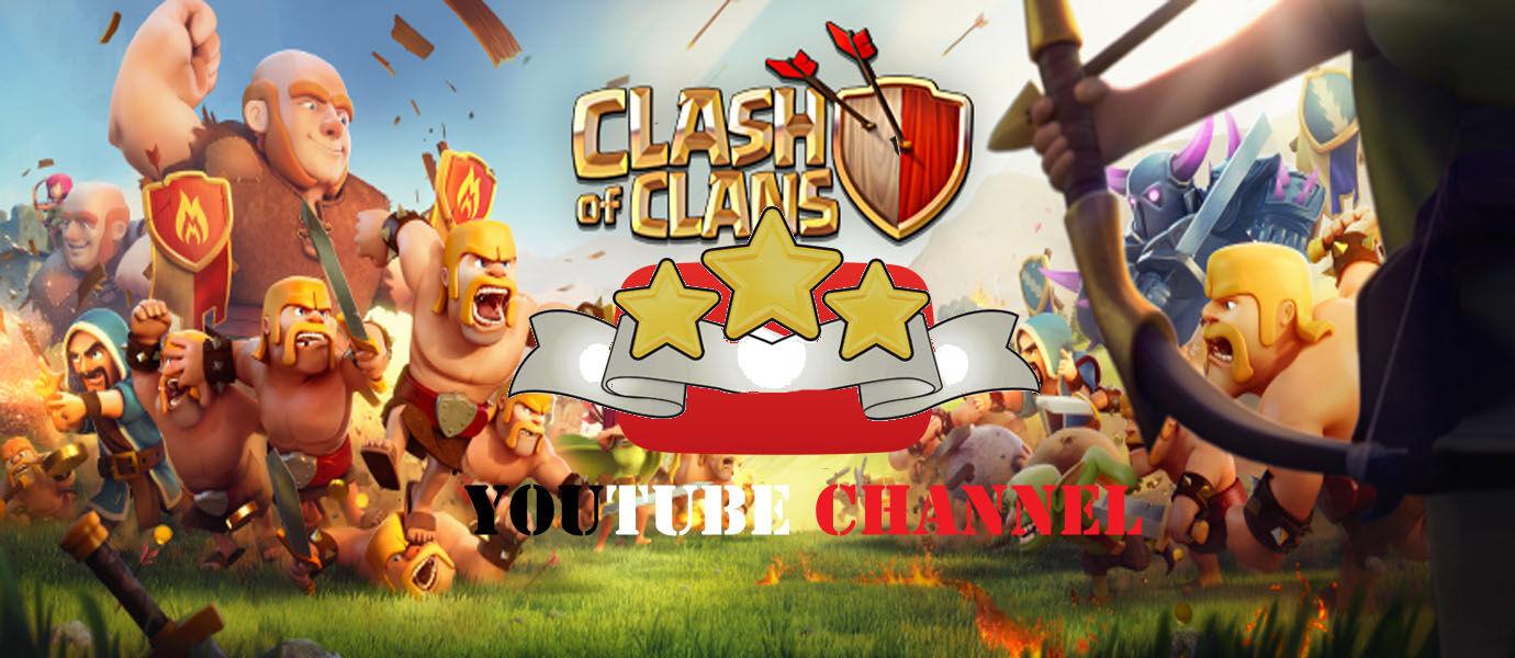 4 Channel YouTube yang Bisa Bikin Kamu Selalu MENANG WAR di Clash of Clans